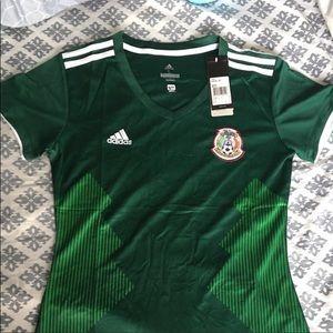Women's Mexico Adidas Jersey